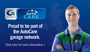 Proud to be part of the Autocare garage network